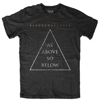 tričko pánske BLACK CRAFT - As Above So Below - Black - MT109AW