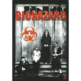 vlajka Biohazard - Band - HFL0087