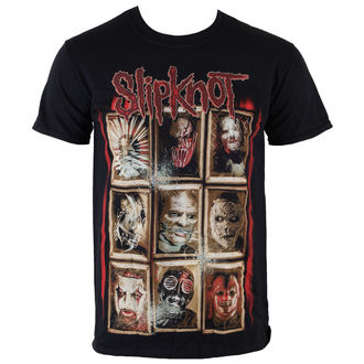 tričko pánske Slipknot - New Masks - Black - ROCK OFF - SKTS13MB