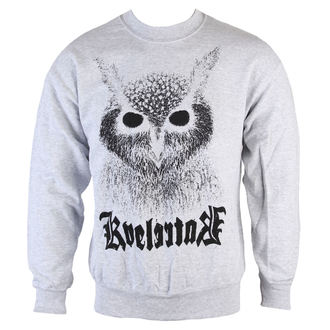 mikina pánska Kvelertak - Barletta Owl - Heather Gray - KINGS RAOD, KINGS ROAD, Kvelertak