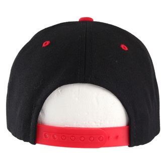 šiltovka BLACK HEART - Snap Back - Blk/Red - BH019