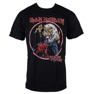 tričko pánske Iron Maiden - NOTB Vintage - Black - ROCK OFF - IMTEE42MB