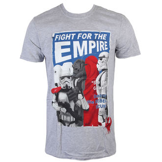 tričko pánske Star Wars - Fight For The Empire - Charcoal - INDIEGO - Indie0254