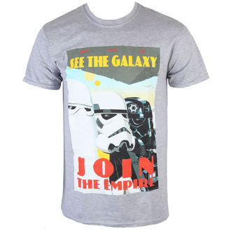 tričko pánske Star Wars - Join The Empire - Charcoal - INDIEGO - Indie0255
