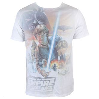 tričko pánske Star Wars - Luke Skywalker sublimation - White - INDIEGO, INDIEGO