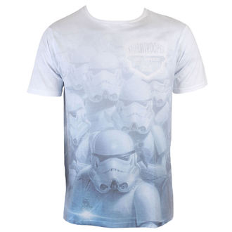 tričko pánske Star Wars - Stormtrooper sublimation - White - INDIEGO, INDIEGO