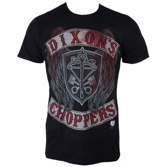 tričko pánske The Walking Dead - Dixons Choppers - Black - INDIEGO, INDIEGO