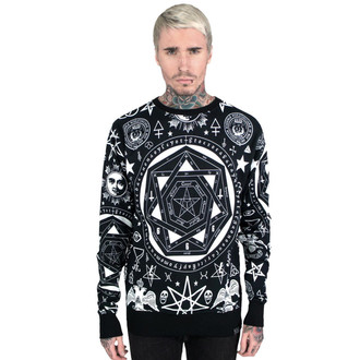 mikina (unisex) KILLSTAR - Occult - Black - KIL004