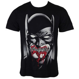 tričko pánske Batman - Dark Smile - Black - LEGEND - MEBATMBTS037