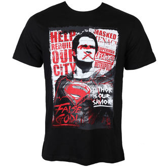 tričko pánske Batman Vs Superman - Superman Anti-Hero - Black - LEGEND - MEBVSSMTS016