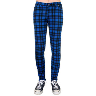nohavice (unisex) 3RDAND56th - Checked - Black/Royal, 3RDAND56th