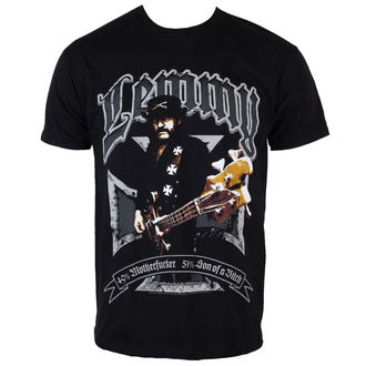 tričko pánske Motörhead - Lemmy Iron Cross 49 percent - ROCK OFF - LEMTS01MB