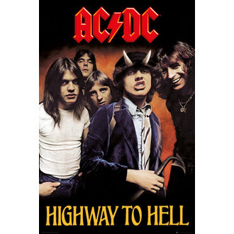 plagát AC/DC - Highway To Hell - GB posters - LP2038