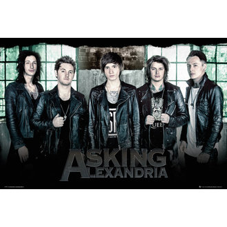 plagát Asking Alexandria - Window - GB posters - LP1997