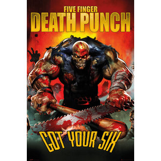 plagát Five Finger Death Punch - Got Your Six - GB posters, GB posters