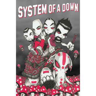 plagát System of a Down - Characters - GB posters - LP1973