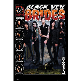 plagát Black Veil Brides - Tales of Horror - GB posters, GB posters, Black Veil Brides