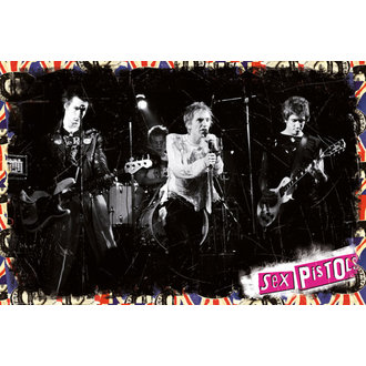 plagát Sex Pistols - On Stage - GB posters - LP1897