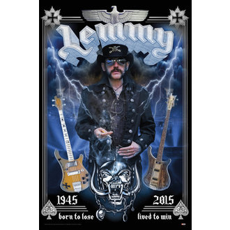 plagát Lemmy - Born To Lose - GB posters - LP2051