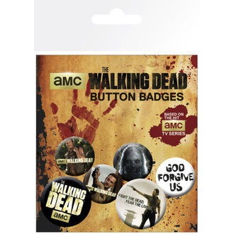 odznaky The Walking Dead - GB Posters - BP0473