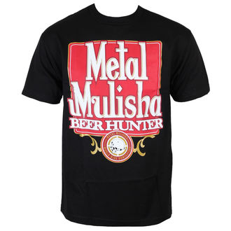 TRIČKO METAL MULISHA BEER HUNTER BLK-M