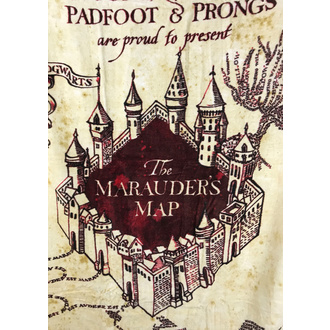 uterák (osuška) Harry Potter - Marauder's Map, NNM