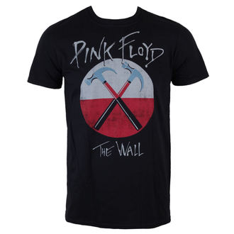 tričko pánske Pink Floyd - The Wall Logo - Black - LIVE NATION - PE13442TSBP
