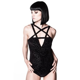body dámske KILLSTAR - Burn Baby - Black - KIL320