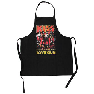 zástera Kiss - Love Gun Apron - LOW FREQUENCY, LOW FREQUENCY, Kiss