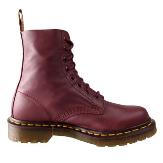 topánky Dr. Martens - 8 dierkové - Pascal Cherry Red Virginie - DR004