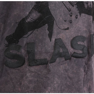 tričko pánske Slash - Snowblind Acid Wash Puff Print - ROCK OFF, ROCK OFF, Guns N' Roses