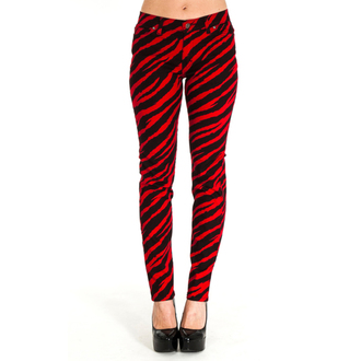 nohavice (unisex) 3RDAND56th - ZEBRA, 3RDAND56th