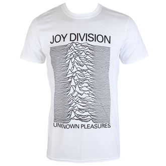 tričko pánske Joy Division - Unknown Pleasures - White - PLASTIC HEAD, PLASTIC HEAD, Joy Division