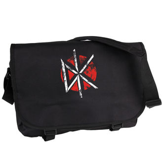 taška Dead Kennedys - Distressed Logo - Black - PLASTIC HEAD, PLASTIC HEAD, Dead Kennedys