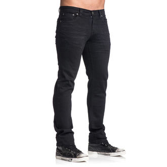 nohavice pánske AFFLICTION - Gage Rising - Black, AFFLICTION