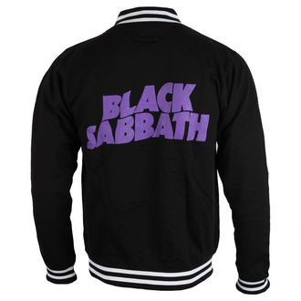 mikina pánska Black Sabbath - Wavy Logo - ROCK OFF, ROCK OFF, Black Sabbath