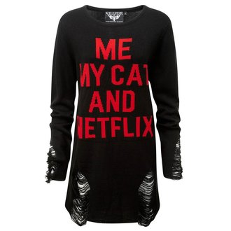 sveter unisex KILLSTAR - My Cat Distress, KILLSTAR