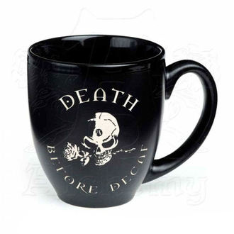 hrnček ALCHEMY GOTHIC - Death Before Decaf, ALCHEMY GOTHIC
