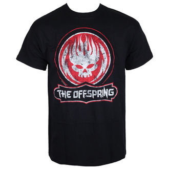 tričko pánske The Offspring - Distressed Skull - Black, Offspring
