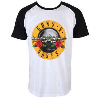 tričko pánske Guns N' Roses - Circle Logo - Black - ROCK OFF, ROCK OFF, Guns N' Roses