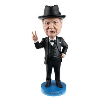 figúrka Winston Churchill - Bobble-Head