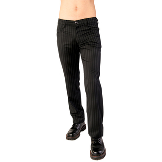 nohavice Aderlass - Jeans Pin Stripe Black-White, ADERLASS