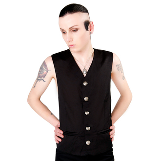 vesta pánska Aderlass - Dark Vest Denim Black, ADERLASS