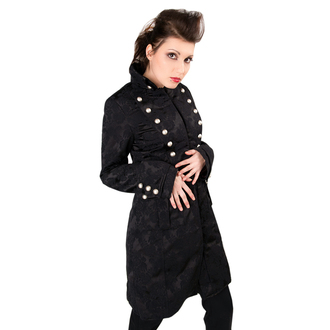 kabát dámsky Aderlass - Ladys Corsair Coat Brocade Black, ADERLASS