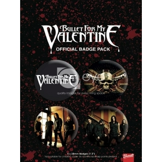 odznaky - Bullet For My Valentine - BP0028, GB posters, Bullet For my Valentine