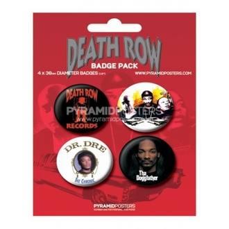 odznaky Death Row Records - BP80085 - Pyramid Posters