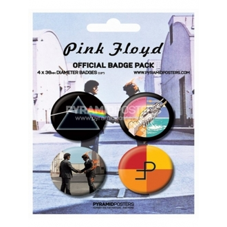 odznaky - Pink Floyd - BP80091 - Pyramid Posters