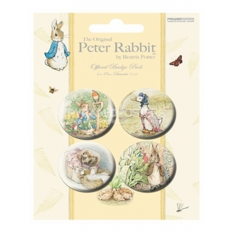 odznaky - Beatrix Potter - BP80167 - Pyramid Posters