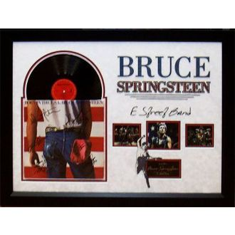 LP s podpisom Bruce Springsteen - Born in the USA, ANTIQUITIES CALIFORNIA, Bruce Springsteen