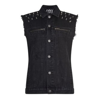 vesta (unisex) KILLSTAR - Disobedience Cut Out - Black, KILLSTAR